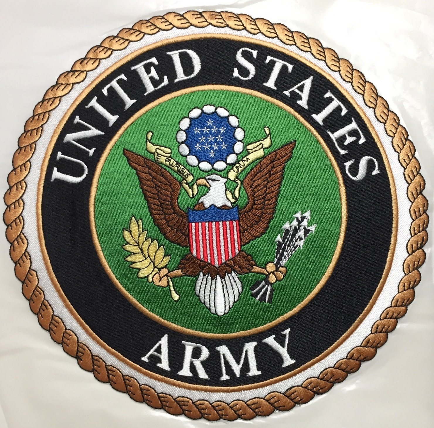 Applique Army Emblem w/Adhesive