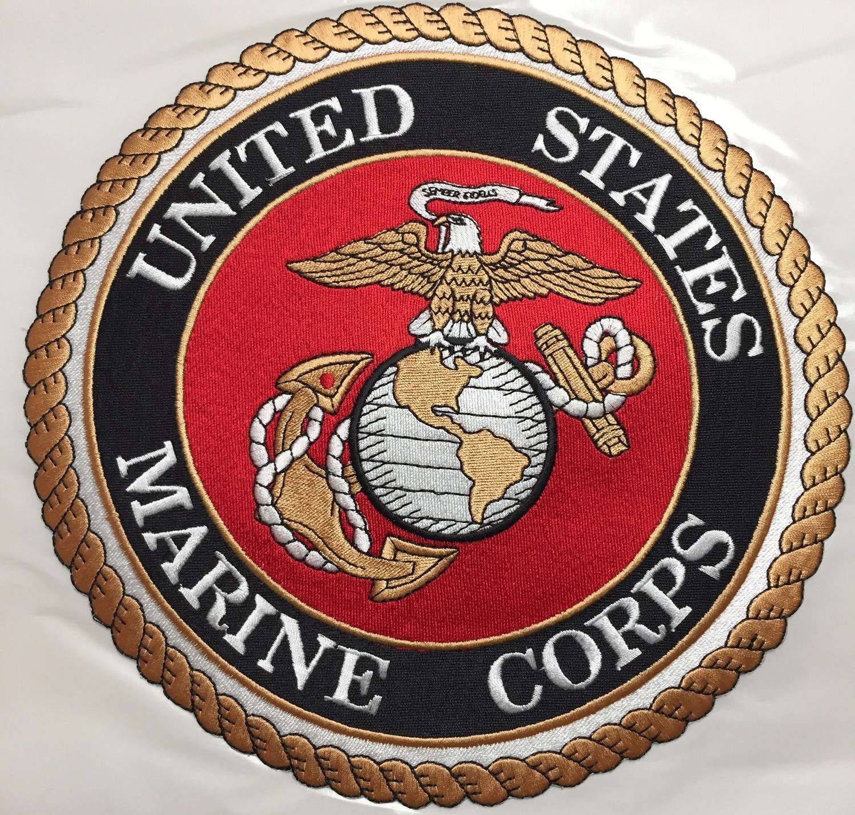 Applique Marine Corp. Emblem w/Adhesive