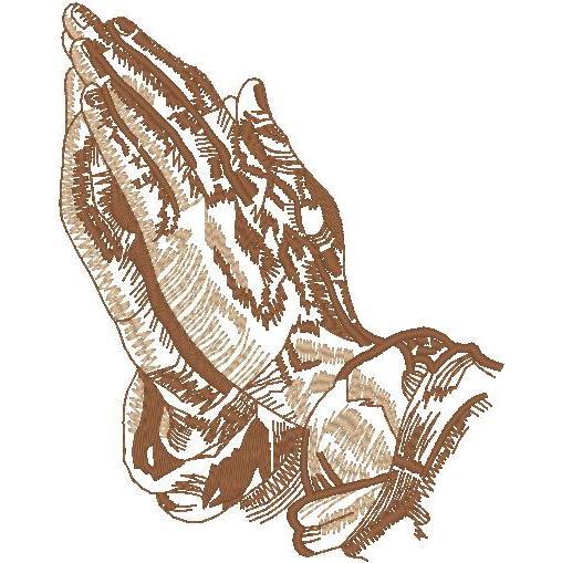 2-Tone Praying Hands (PM)