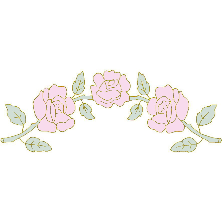 Rose Arbor (Trapunto)