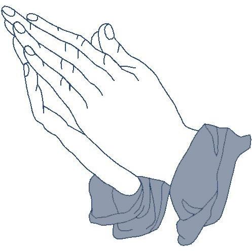 Praying Hands (Trapunto)