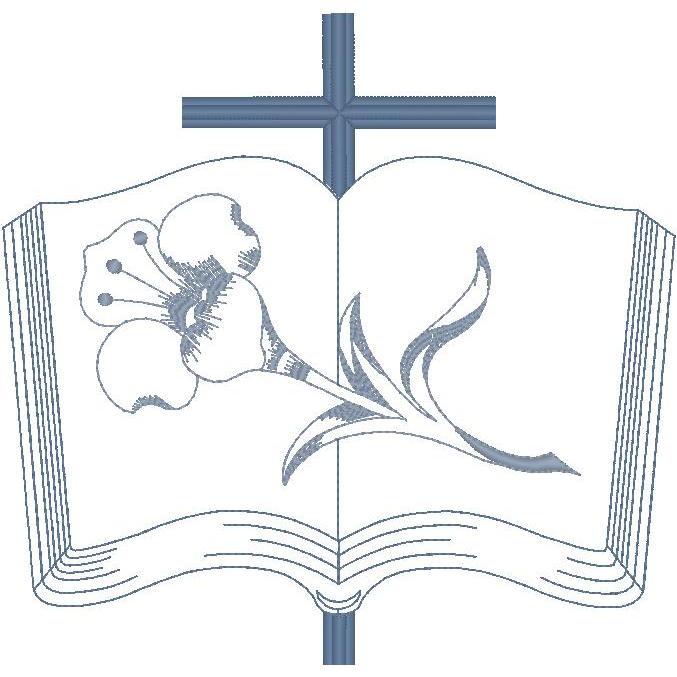 Bible, Cross & Lily