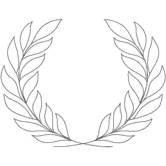 Wreath Outline
