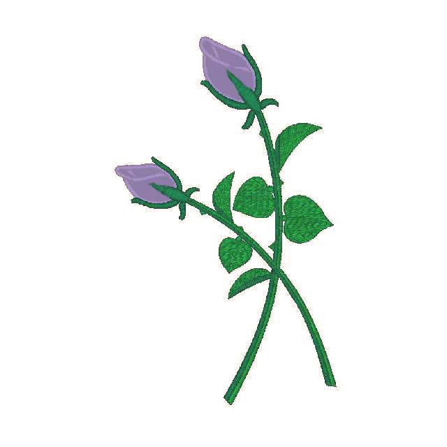 Applique Roses (PM)