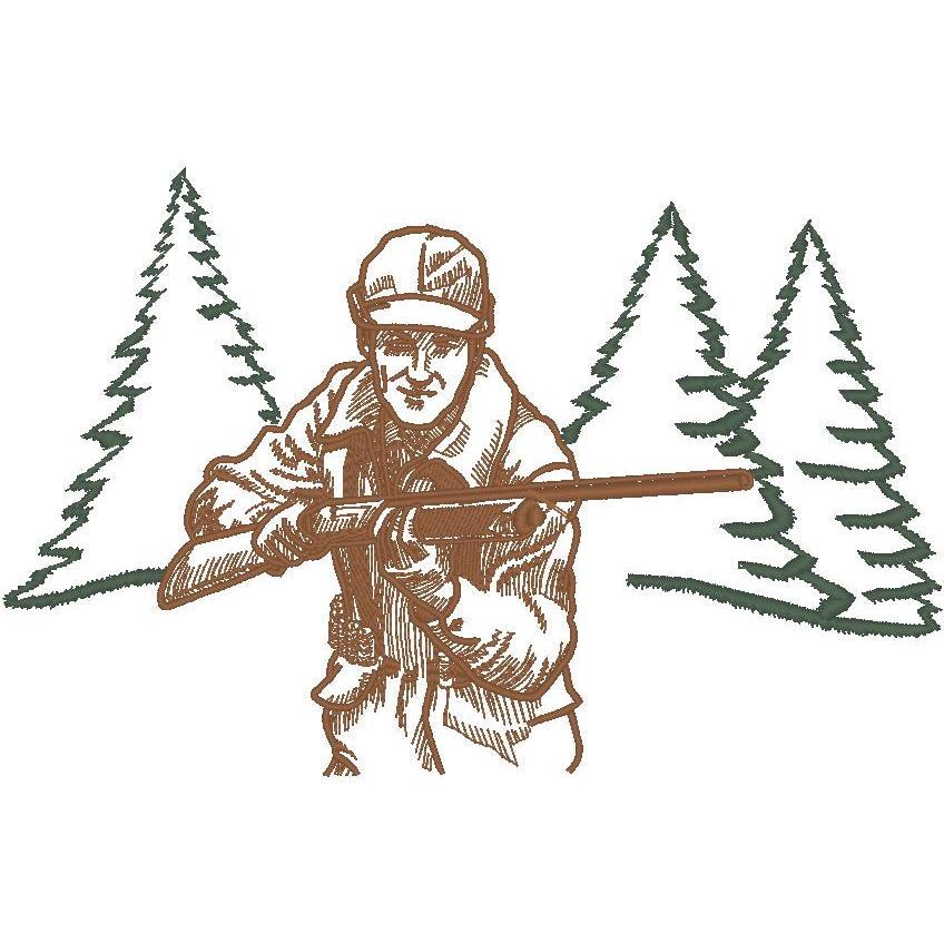 Hunter w/Trees (PM)