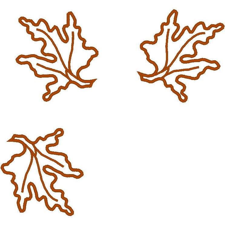 3 Falling Leaves