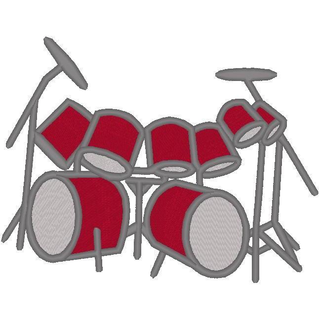 Drum Set w/Cymbals