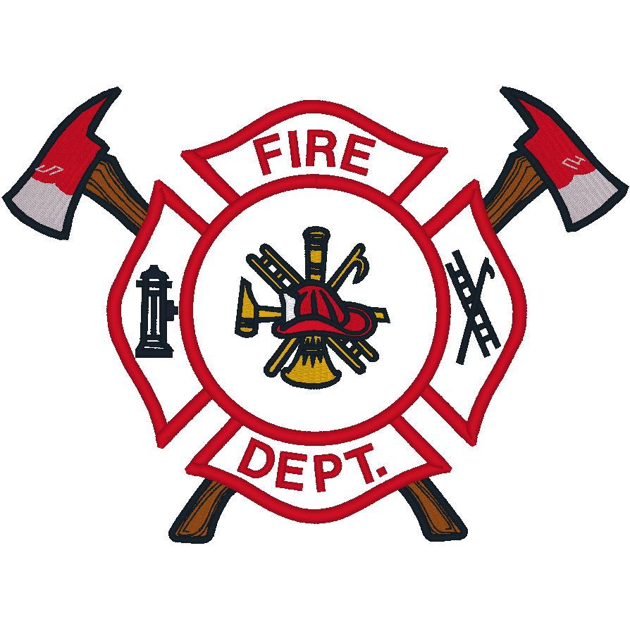 Firefighter Logo w/Axes (PM)