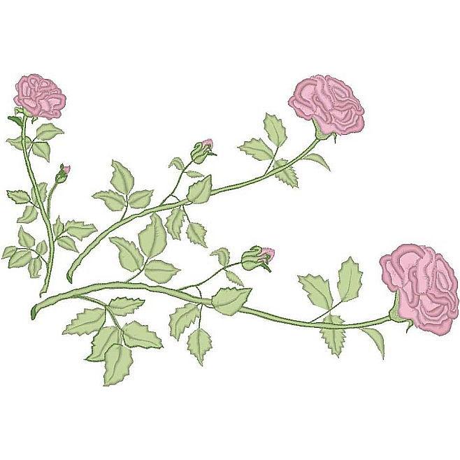 3 Stem Rose