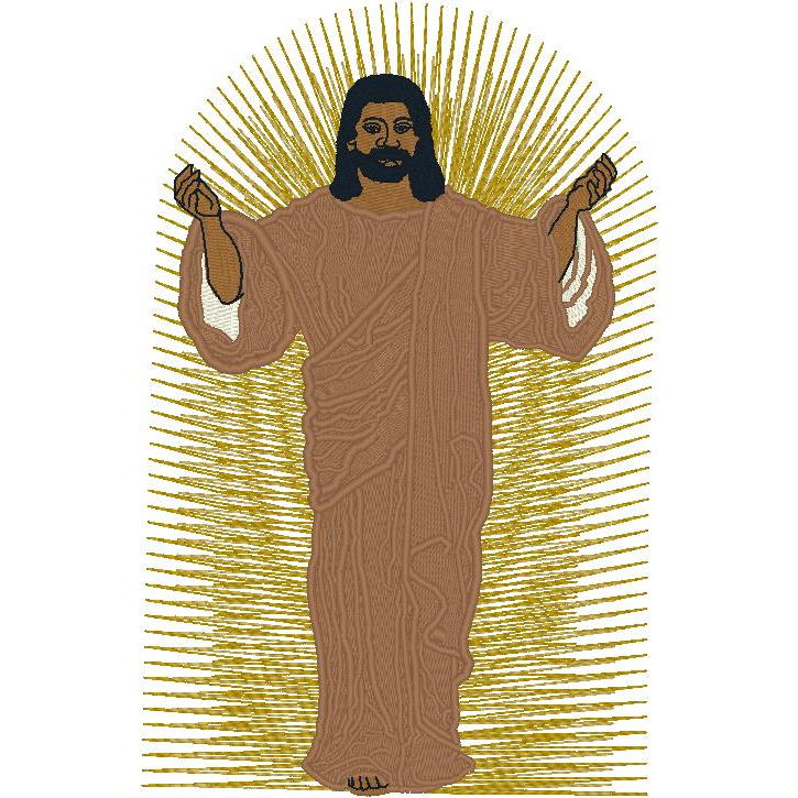 AA Jesus with Aura
