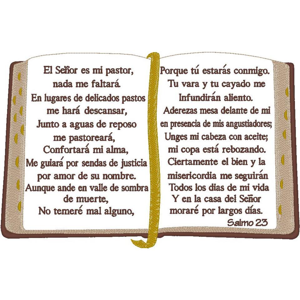Open Bible/Spanish Psalm 23