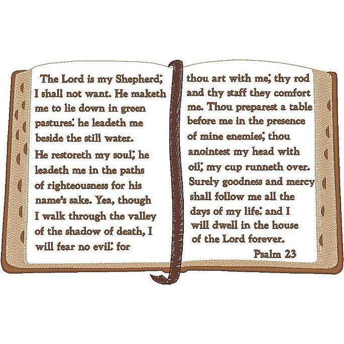 Open Bible/Psalm 23
