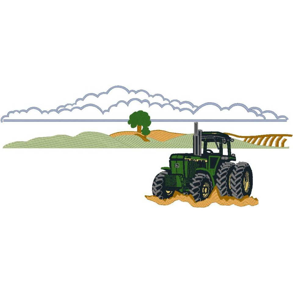 Tractor Scene