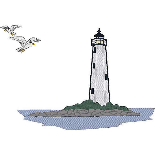 B. Lighthouse Scene (PM)