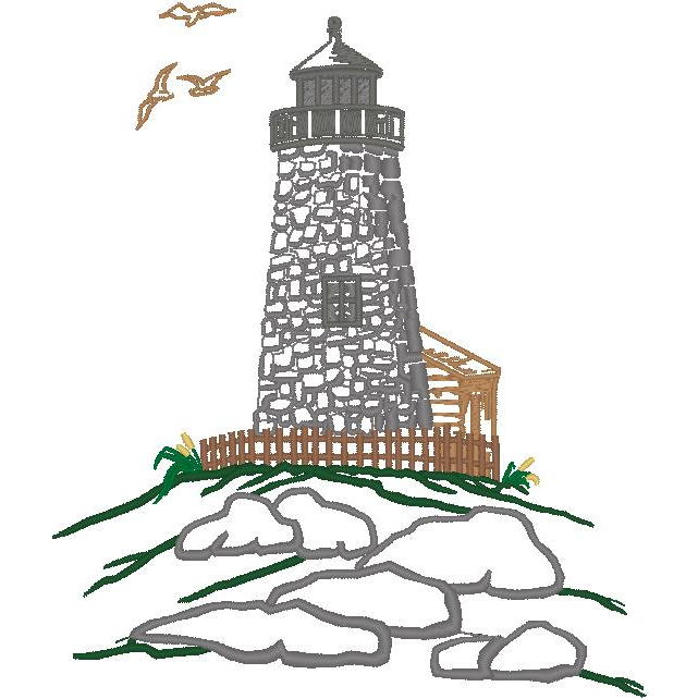 Lighthouse Scene