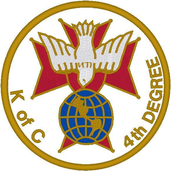 K of C 4th Degree Emblem