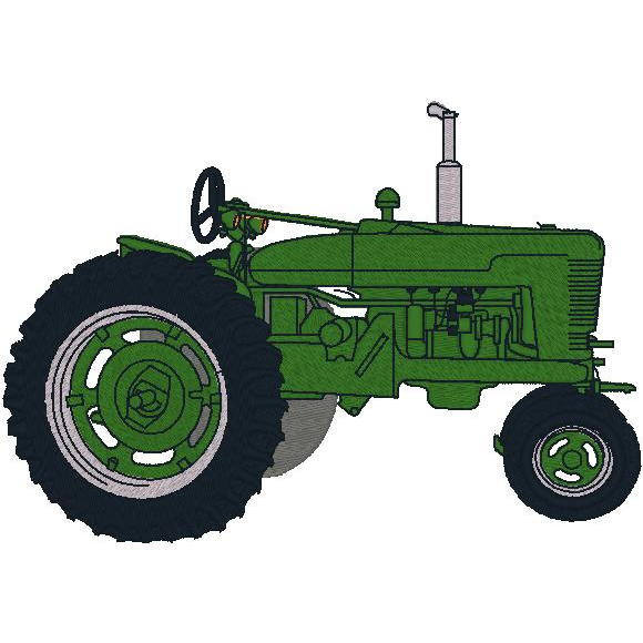 Old Fashion Tractor