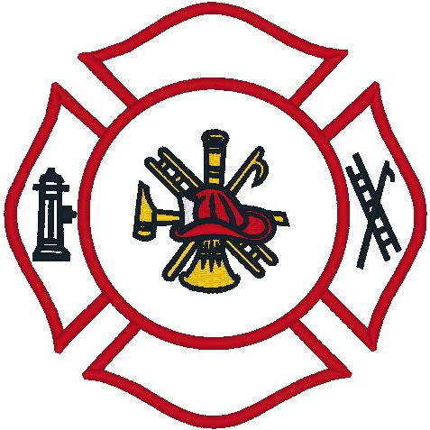 Lg Firefighter Emblem (PM)