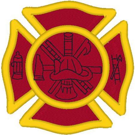 Small Firefighter Emblem