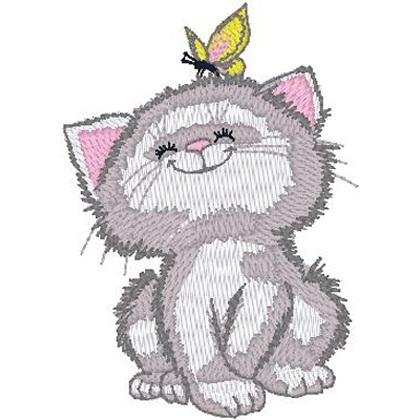Kitty w/ Butterfly