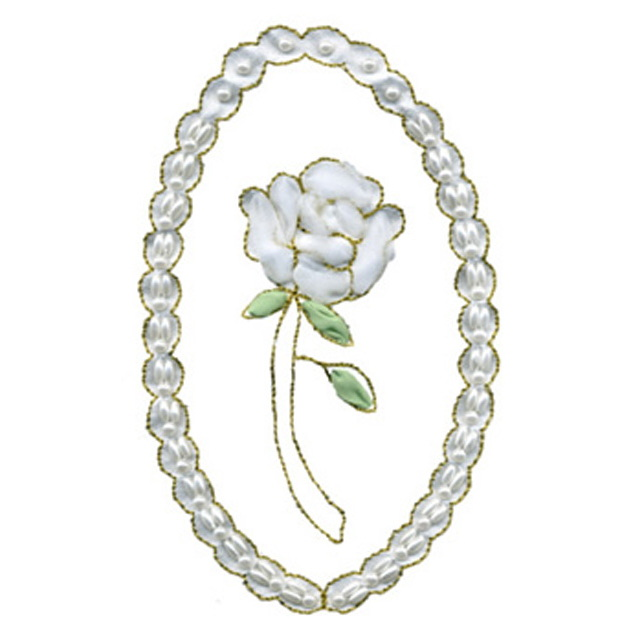 Cameo Rose w/Pearls (Ninon)