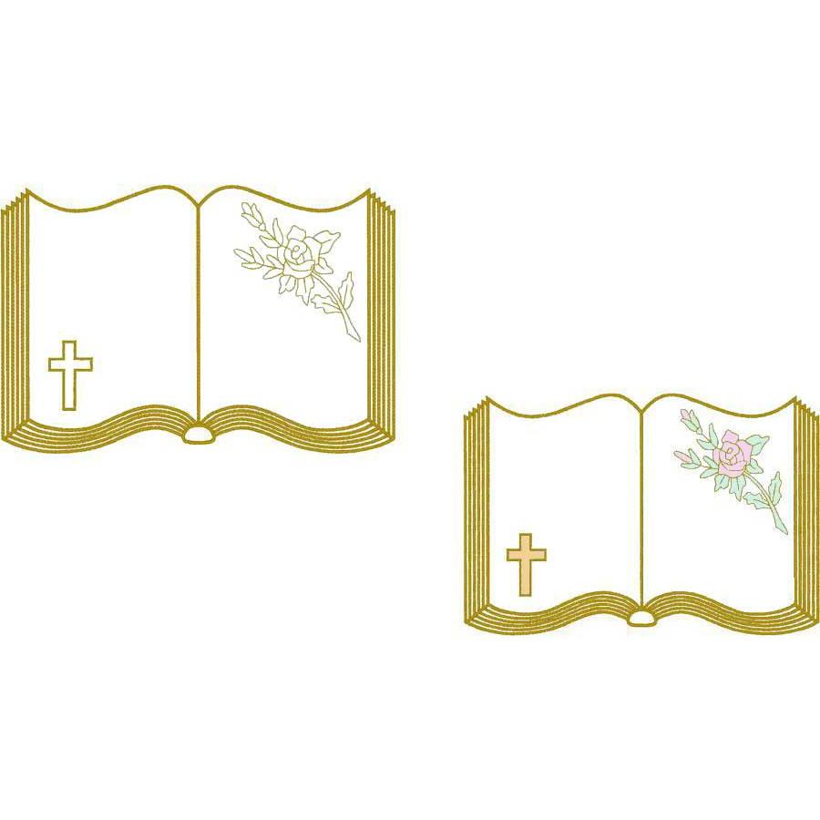 Bible & Rose (Trapunto)