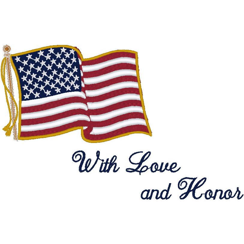 Flag/With Love and Honor