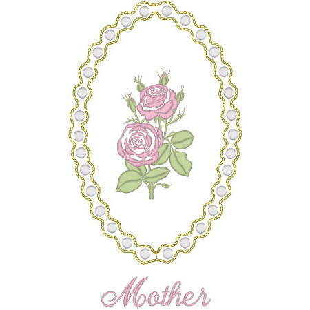 Cameo Rose/Mother/Pearls