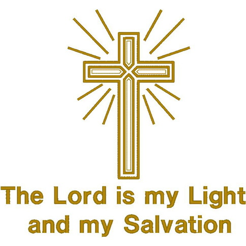 Cross/Rays/The Lord is my Light...