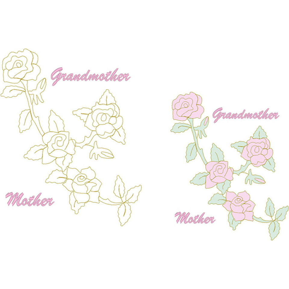 Climbing Rose/Mother-Grandmother (Trap)
