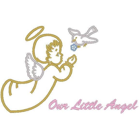 Cherub w/Dove/Our Little Angel (PM)