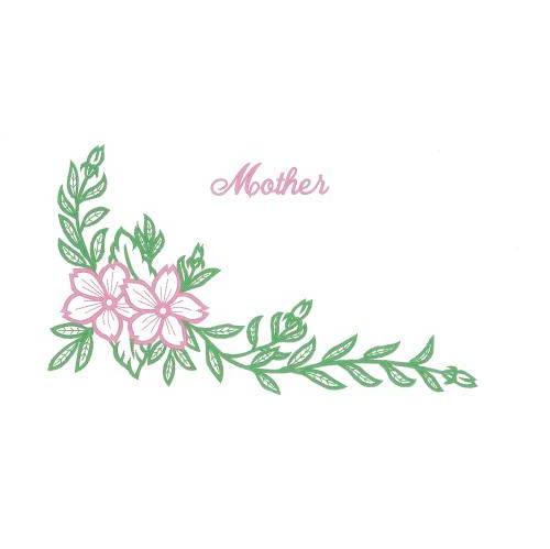Corner Floral/Mother