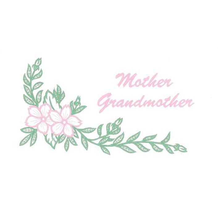 Corner Floral/Mother/Grandmother