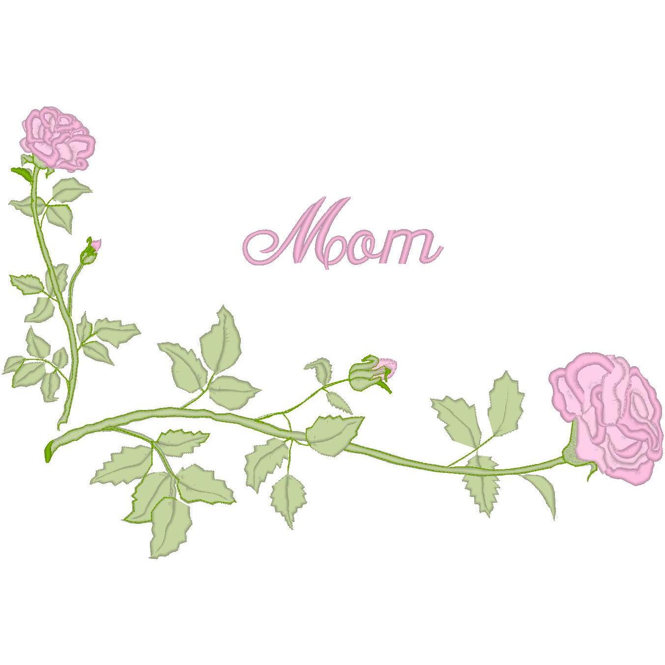 Corner Rose / Mom
