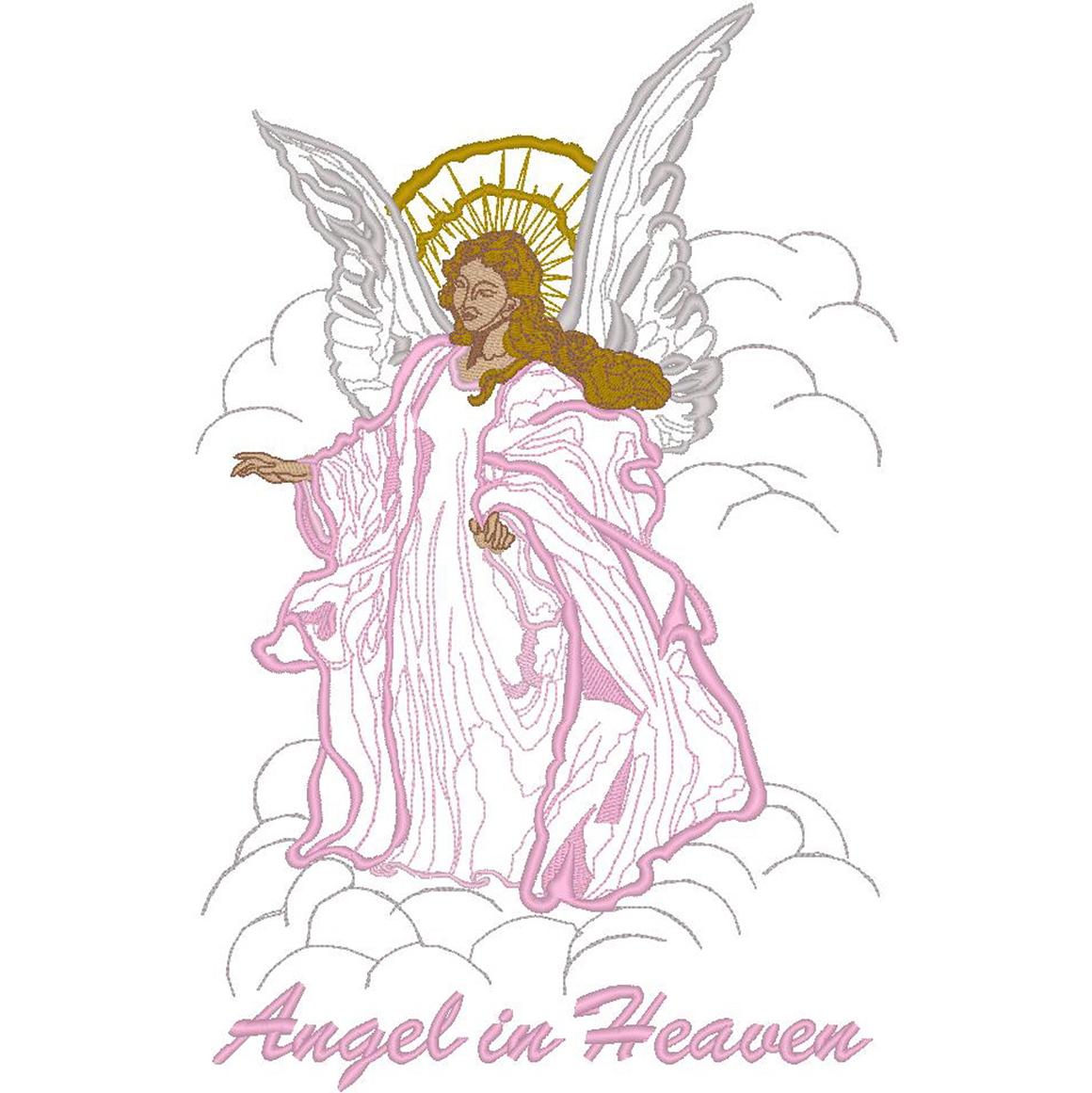 Angel w/Clouds/Angel in Heaven