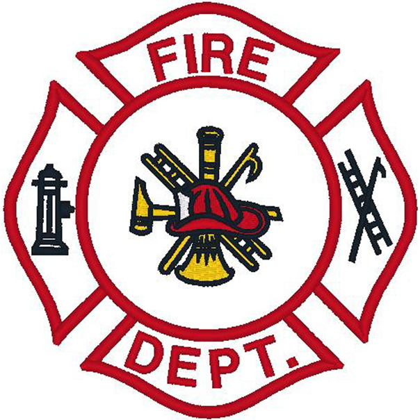 Firefighter Emblem/Fire Dept.