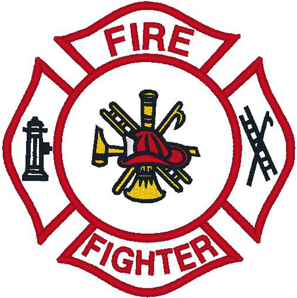 Firefighter Emblem/Fire Fighter