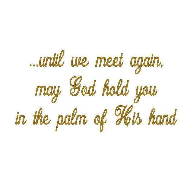 ...until we meet again - Diane