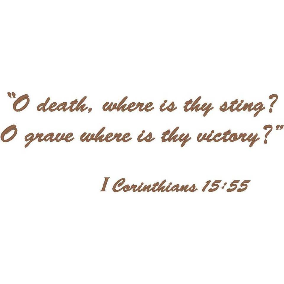 Corinthians 15:55