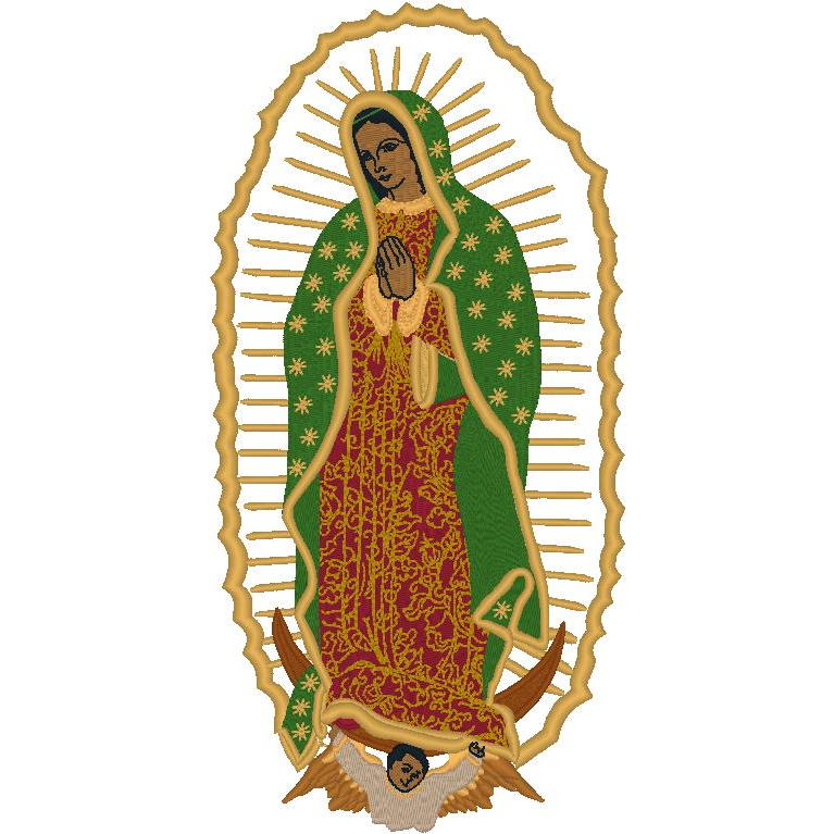 Applique Lady of Guadalupe