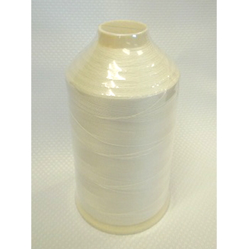 B-92 Bonded Nylon Thread, White 8 oz.