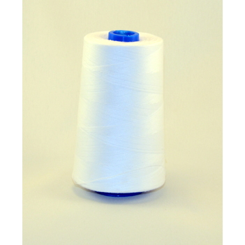 Perma Spun Poly Thread, 6M-White,T-40