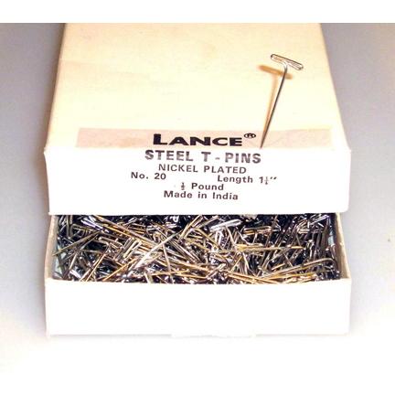 #20 T-Pin, 1/2-lb Box