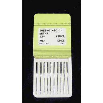 135x5, DPx5,  90/14 Needles (100/Box)