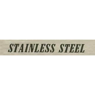 Stainless Steel I.D. Label