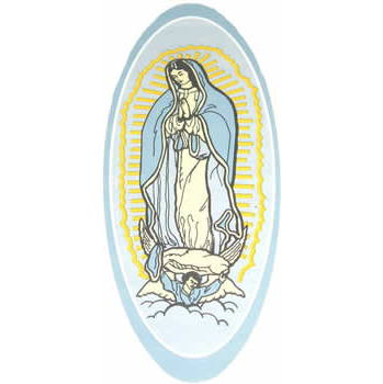 A-18 Lady of Guadalupe Decal