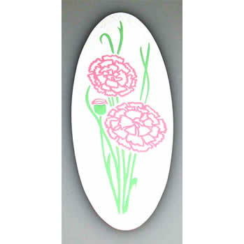A-18 Carnations Decal, 3-Color - CO