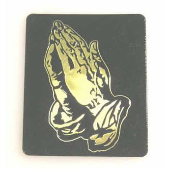 #4751 Pr. Hands Decal, Black/Gld