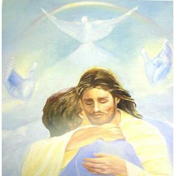 Litho Print: 16x20 Jesus w/Open Arms