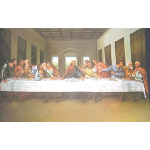 Litho Print: 16 x 20 Last Supper